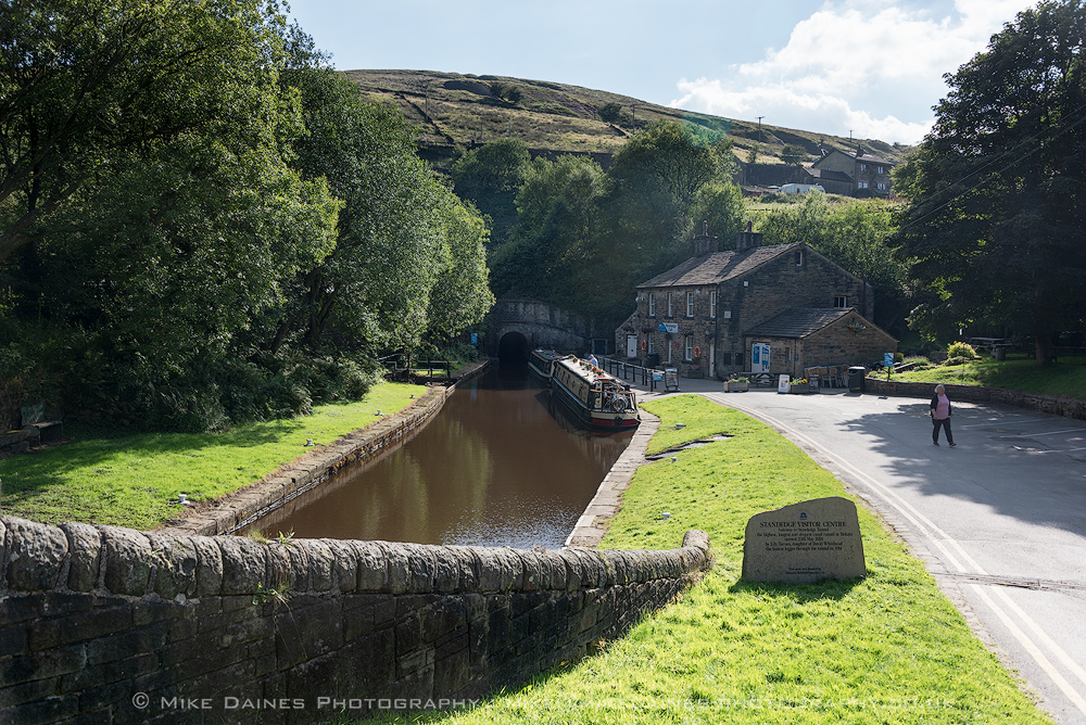 The Standedge Visitor Centre at Marsden.